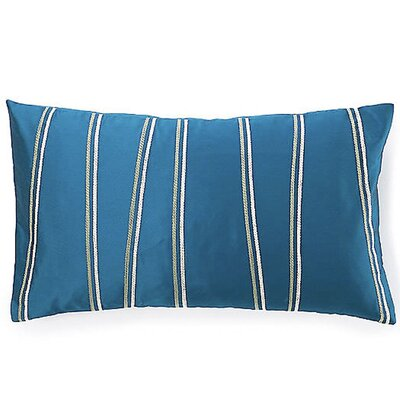 Diagonal  Silk Lumbar Pillow