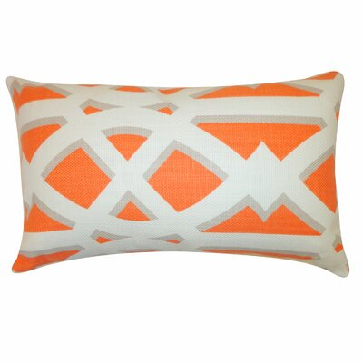 Crossroads Cotton Lumbar Pillow Color: Tan