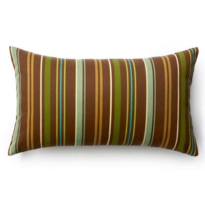 Thick Stripe Vertical Synthetic Lumbar Pillow