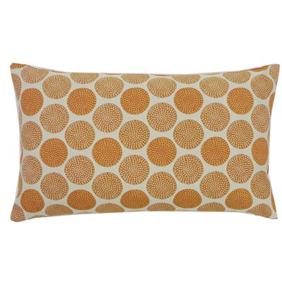 Radius Cotton Lumbar Pillow Color: Orange