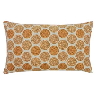 Radius Cotton Lumbar Pillow Color: Orange