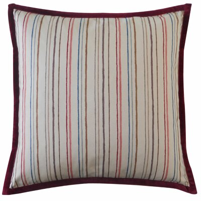 Ali Stripe Cotton Throw Pillow