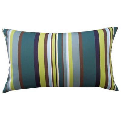 Aloe Stripe Lumbar Pillow