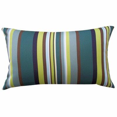 Aloe Stripe Lumbar Pillow