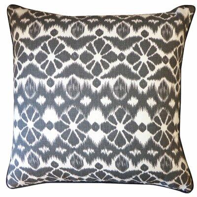 Tree Cotton Throw Pillow Color: Black