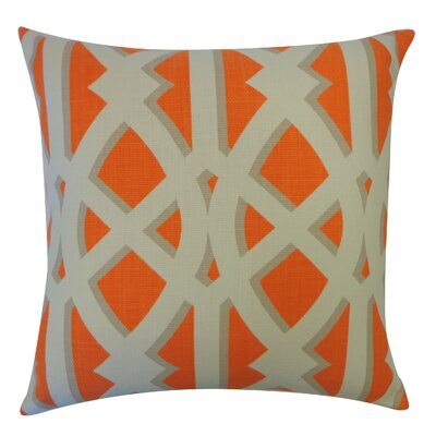 Crossroads Cotton Throw Pillow Color: Tan