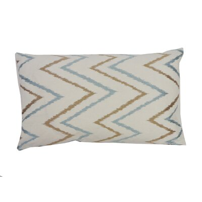 Sierra Cotton Lumbar Pillow Color: Aqua