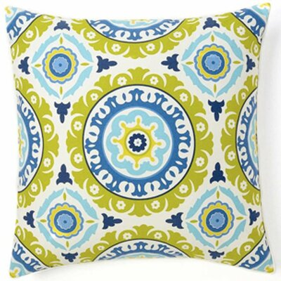 Zanihe Cotton Throw Pillow Color: Blue