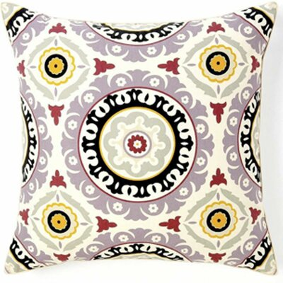 Zanihe Cotton Throw Pillow Color: Lilac