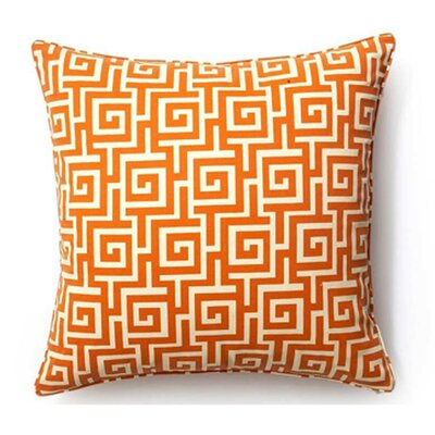 Puzzle Cotton Throw Pillow
