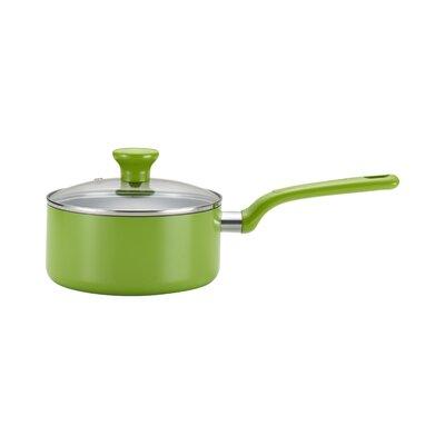 T-fal Excite Color 3 qt. Saucepan with Lid - Color: Green