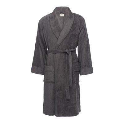 Kensington Male Bathrobe Size: L/XL, Color: Gray