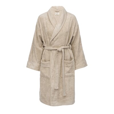 Kensington Female Bathrobe Size: L/XL, Color: Beige