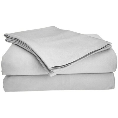 Viscose Rayon from Bamboo Pillow Case Size: King/California King, Color: Gray