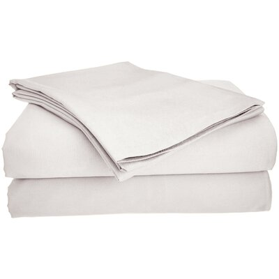 Viscose Rayon from Bamboo Pillow Case Size: Standard, Color: Ivory