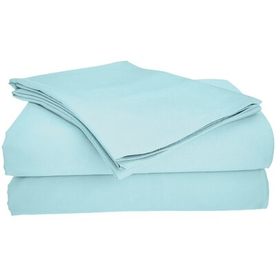 Viscose Rayon from Bamboo Pillow Case Size: Standard, Color: Blue