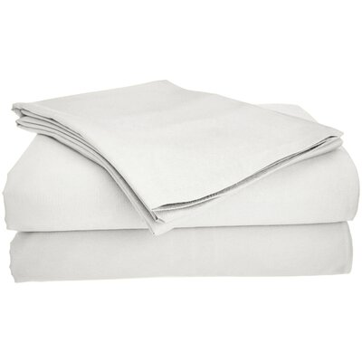 Viscose Rayon from Bamboo Pillow Case Size: King/California King, Color: White