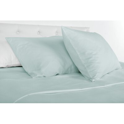 Agata 300 Thread Count 100% Tencel Sheet Set Size: Queen, Color: Green