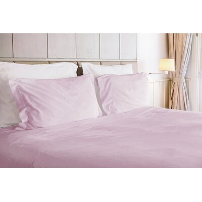 Agata 3 Piece Duvet Set Size: King, Color: Lilac