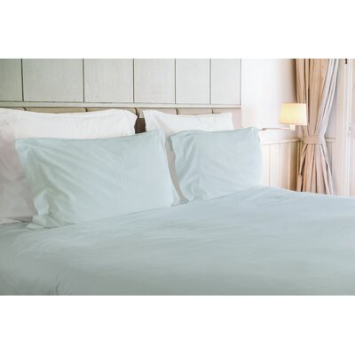 Agata 3 Piece Duvet Set Color: Green, Size: King