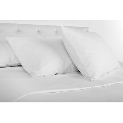Ademar 300 Thread Count Sheet Set Size: Queen, Color: White