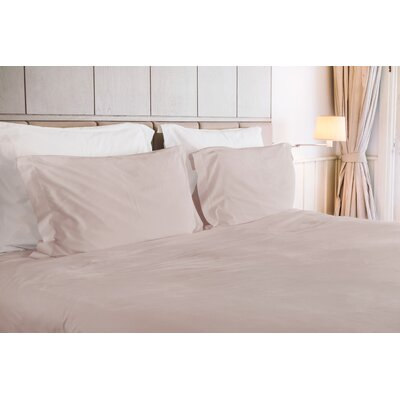 Ademar 3 Piece Duvet Set Color: Grant Beige, Size: King
