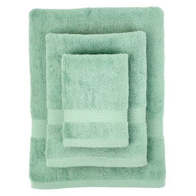 Cotton 3 Piece Towel Set Color: Dreamy Blue