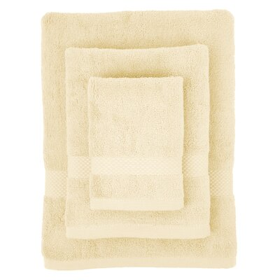 Cotton 3 Piece Towel Set Color: Ecru