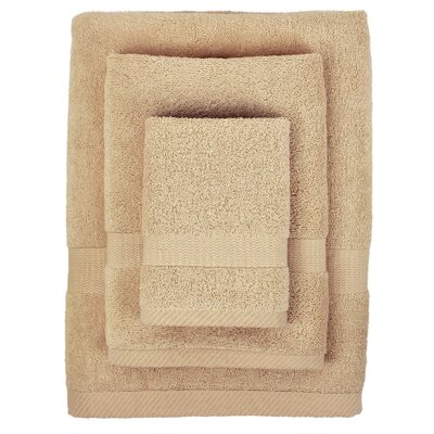 Cotton 3 Piece Towel Set Color: Au Natural