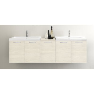 Light 69 Double Bathroom Vanity Set