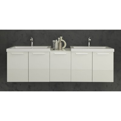 Welke 69 Double Bathroom Vanity Set