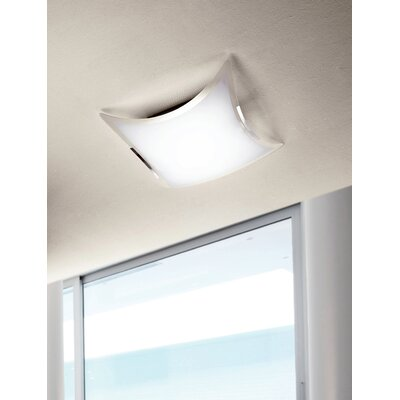 Akhill 2-Light LED Flush Mount