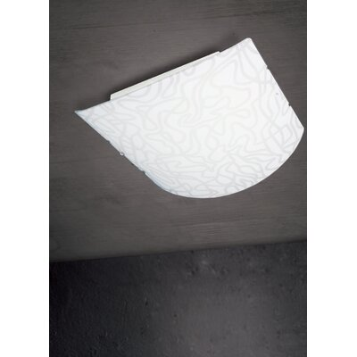Ron 2-Light Flush Mount
