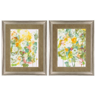 Spring Has Sprung 2 Piece Framed Painting Print Set 3617
