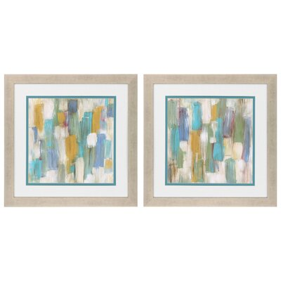 Souls Of Departed 2 Piece Framed Painting Print Set 3643