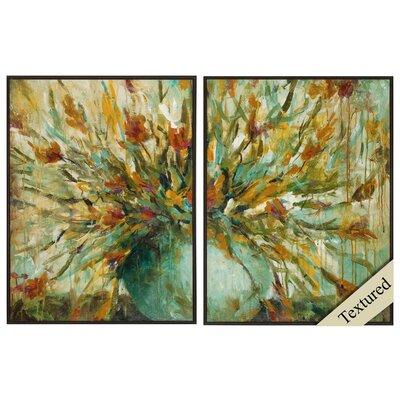 Grande Bouquet 2 Piece Framed Painting Print Set