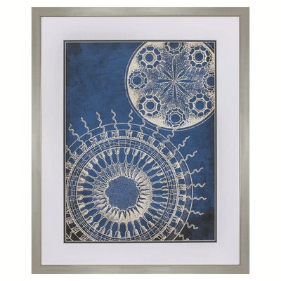 Circles Framed Graphic Art 9331