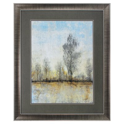 'Quiet Nature I' Framed Painting Print