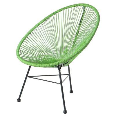 Acapulco Papasan Chair Finish: Green