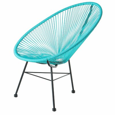 Acapulco Papasan Chair Finish: Blue