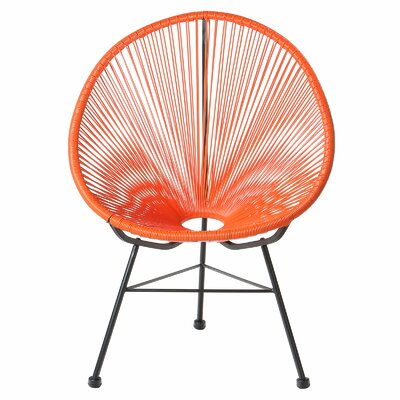 Acapulco Papasan Chair Finish: Orange