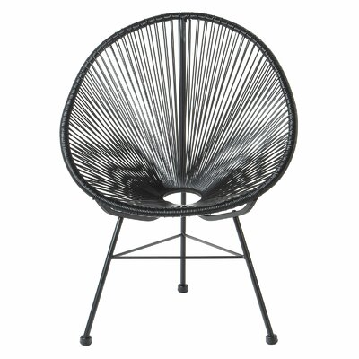 Acapulco Papasan Chair Finish: Black