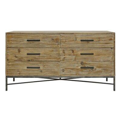Angora 6 Drawer Dresser
