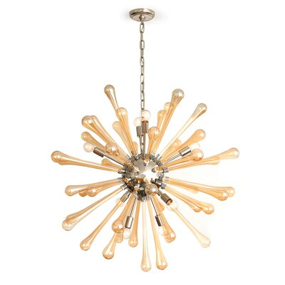 Elba 8-Light Sputnik Chandelier