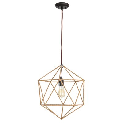 Erika 1-Light Foyer Pendant
