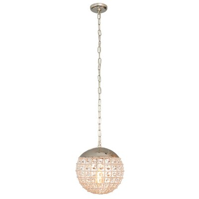 Erika 1-Light Globe Pendant