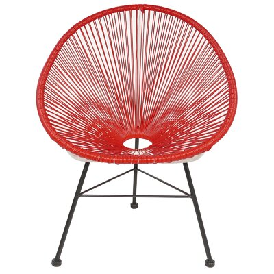 Acapulco Papasan Chair Finish: Red