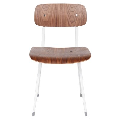 Kramer Side Chair Upholstery: White