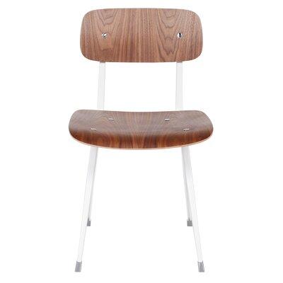 Kramer Side Chair Upholstery: White