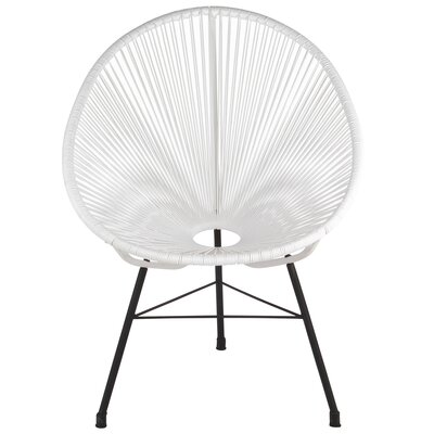 Acapulco Papasan Chair Finish: White